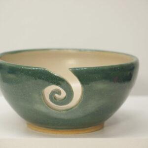 Cuenco lanero de cerámica