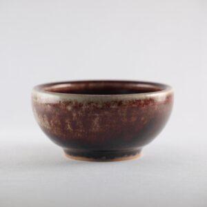 Cuenco de cerámica sangre de buey